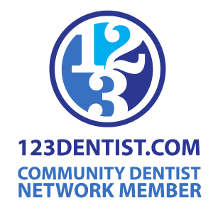 123Dentist Community Dentist Network Logo