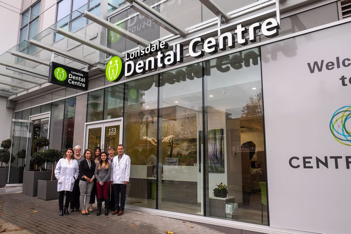 Lonsdale Dental Outside - team